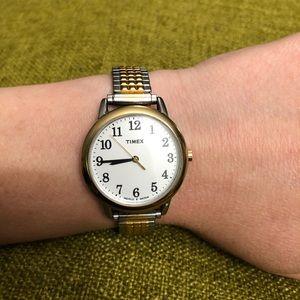 Vintage Timex Inidglo wr30m Two Tone